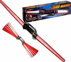 Miecz ŚWIETLNY LASER SWORD Dźwiękowy Światło 115 cm
