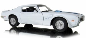 1972 PONTIAC FIREBIRD TRANS AM Auto Metal Welly 1:24