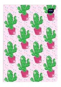 Zeszyt 16 Kartkowy w KRATKĘ Kaktusy