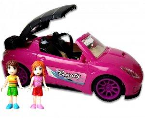 KABRIOLET RÓŻOWY Auto dla Lalek Beauty Fashion