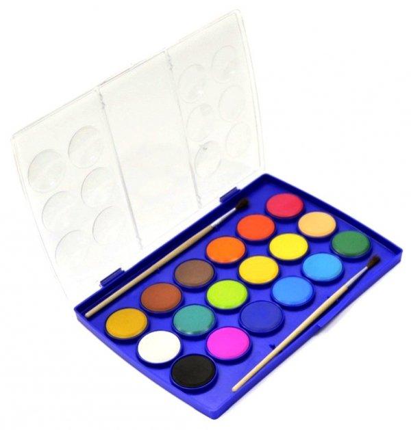 FARBY Akwarelowe Szkolne 18 kolorów COLORINO 854737