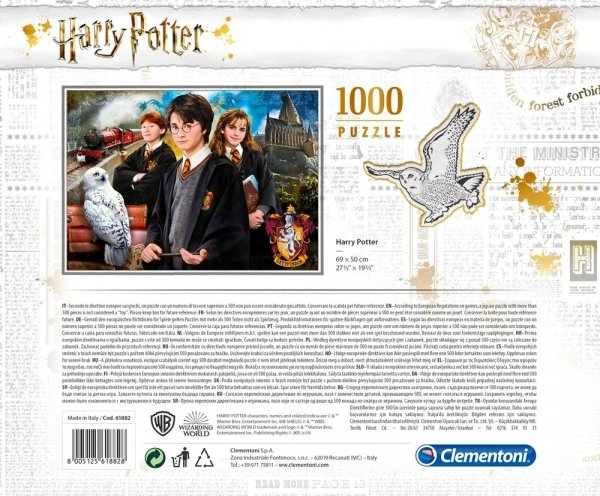 Puzzle HARRY POTTER 1000 el. w Walizce Clementoni