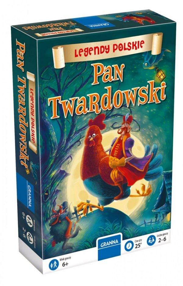 Gra Rodzinna PAN TWARDOWSKI Legendy Polskie Znajdź Różnice Granna
