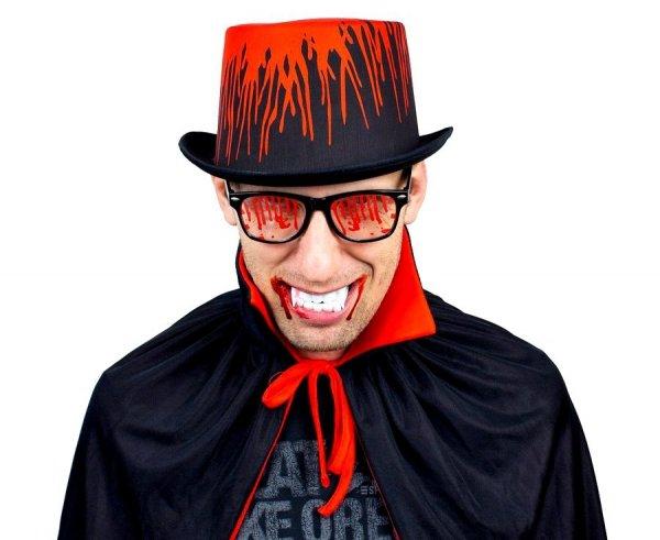 Okulary KRWISTE Maska Halloween Ślady Krwi Godan