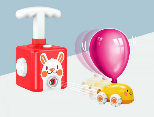 KRÓLIK Wyrzutnia Balonów AERODYNAMICZNE Autka