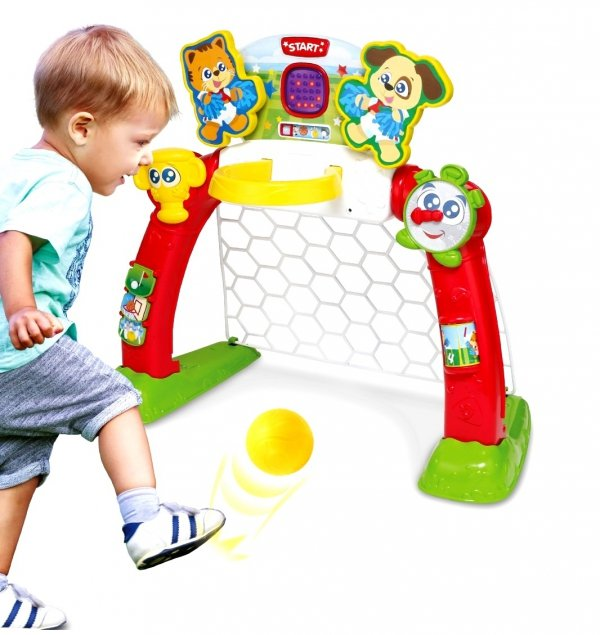 Smily Play CENTRUM SPORTU 4w1 Bramka Golf 06003A