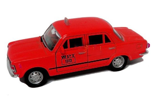Fiat 125p RADIOTAXI 1313 WPT Zmiennicy Welly 1:34