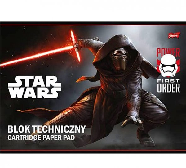 BLOK TECHNICZNY 10 kartek 200 g/m2 STAR WARS