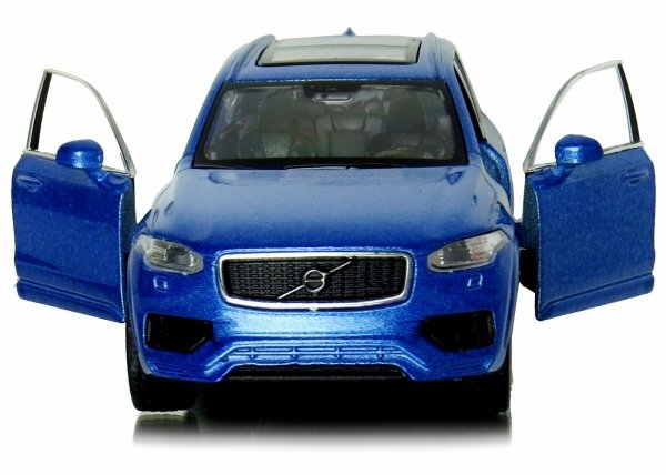 VOLVO XC 90 VW The Beetle 3w1 Laweta 1:34 MODEL Welly