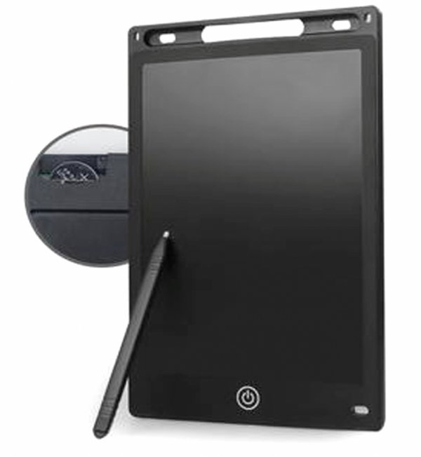 GRAFICZNY TABLET do Pisania RYSOWANIA 8,5 Notatnik LCD Niebieski