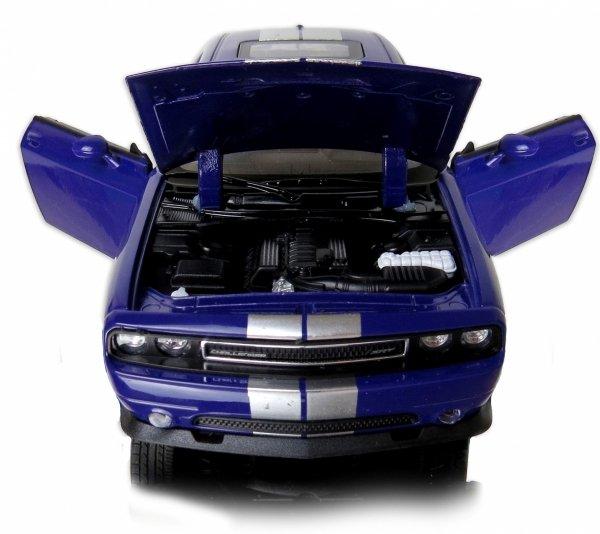 METALOWY MODEL 2012 Dodge Challenger SRT AUTO Welly 1:24