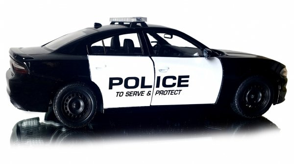 2016 DODGE CHARGER POLICE Auto Metal Welly 1:24