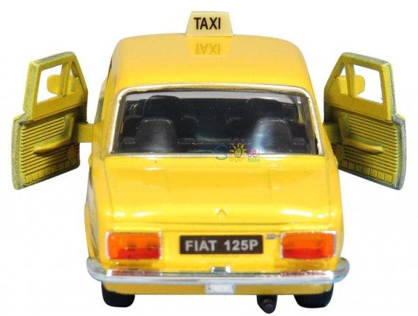 Fiat 125p RADIOTAXI 1313 WPT Zmiennicy Welly 1:34