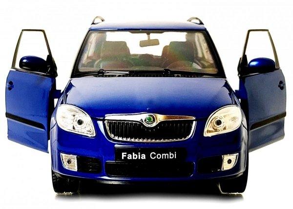 2009 SKODA FABIA COMBI II Auto Metalowy Model Welly 1:24