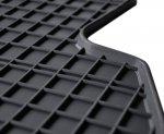 Dywaniki gumowe czarne RENAULT Twingo III / SMART ForFour od 2014