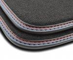 F3G02000 Dywaniki welurowe Premium FORD Fiesta VI 2008-2012 owalne stopery