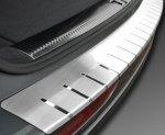 BMW X6 I (E71) 2008-2014 Nakładka na zderzak z zagięciem (stal)