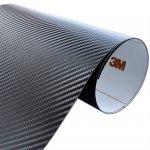 Folia Carbon Czarny 3M CA421 122x140cm