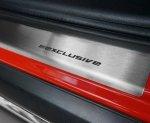 BMW 7 F01 od 2008 Nakładki progowe STANDARD mat 4szt