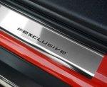 FIAT 500 od 2007 Nakładki progowe STANDARD połysk 2szt