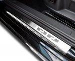 VW GOLF V 3D HATCHBACK 2004-2008 Nakładki progowe - stal [ 2szt ]