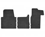 Dywaniki gumowe czarne NISSAN NV400 od 2011 | OPEL Movano B od 2010 | RENAULT Master III od 2010