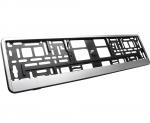 Ramka pod tablice rejestracyjną Szczotkowane Aluminium