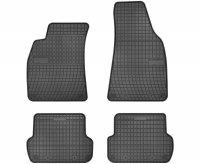 Dywaniki gumowe czarne AUDI A4 B6 B7 2001-2008 / SEAT Exeo od 2008