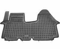 Dywaniki korytka gumowe Nissan Primastar / Opel Vivaro / Renault Trafic 2001-2014 z dodatkowym wzmocnieniem po stronie kierowcy
