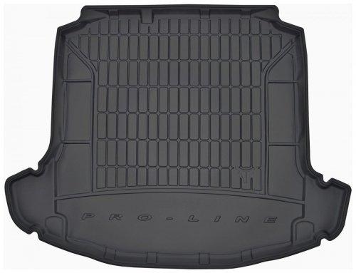 Mata bagażnika gumowa SKODA Rapid Liftback 2012-2019 wersja z bocznymi wnękami