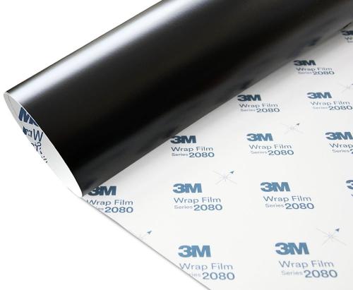 Folia Czarny Mat 3M M12 2080 152x400cm