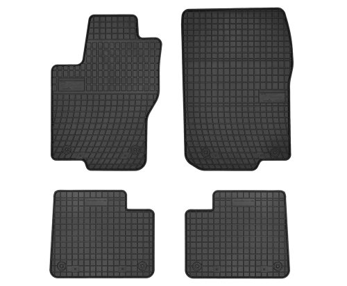 Dywaniki gumowe czarne MERCEDES GL X166 od 2012 | ML W166 2011-2015