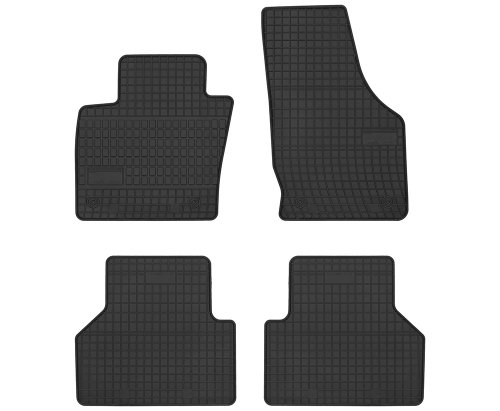 Dywaniki gumowe czarne AUDI Q3 od 2011