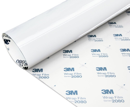 Folia Biały Połysk 3M G10 2080 152x500cm