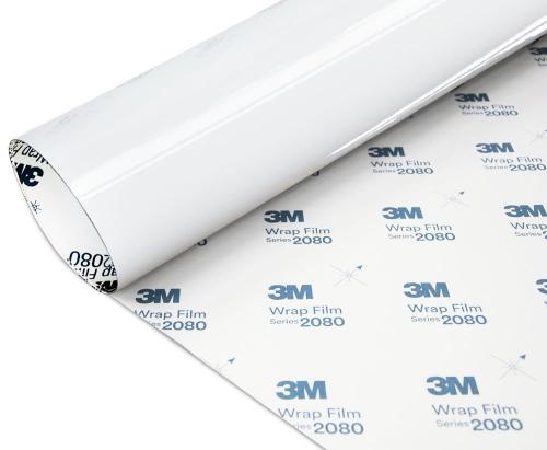 Folia Biały Połysk 3M G10 2080 10x20cm