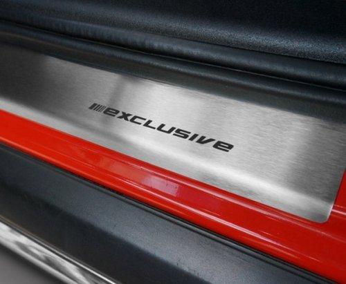VW UP 3D HATCHBACK od 2012 Nakładki progowe STANDARD mat 4szt