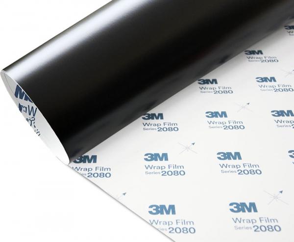 Folia Czarny Mat Satyna 3M S12 2080 152x110cm