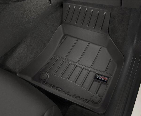 Dywaniki gumowe 3D do VW Sharan II 2010-2020