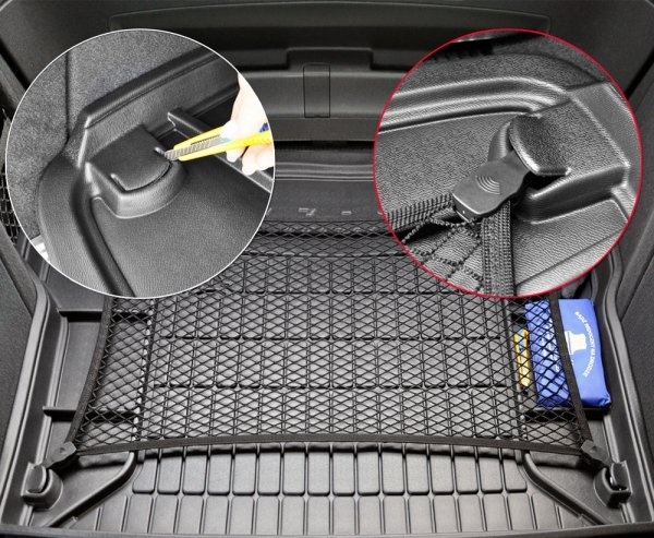Mata bagażnika gumowa KIA Stonic od 2017 dolna podłoga bagażnika