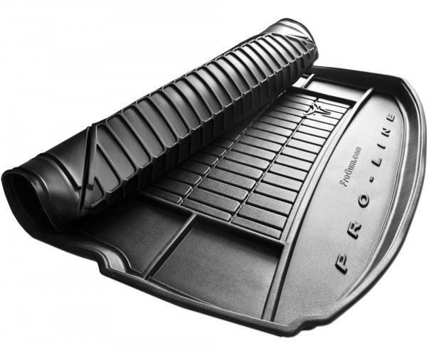 Mata bagażnika gumowa SKODA Kodiaq od 2016 wersja 7 osobowa ( ostatni rząd siedzeń rozłożony )