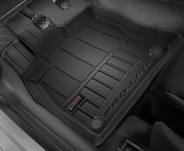 Dywaniki gumowe 3D do BMW 5 F07 Gran Turismo 2009-2017