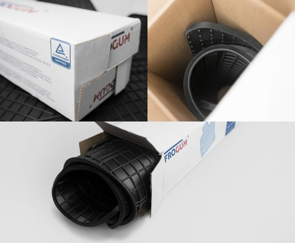 Dywaniki gumowe czarne FORD Focus IV od 2018