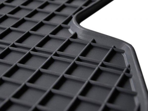 Dywaniki gumowe czarne Skoda Kodiaq od 2017