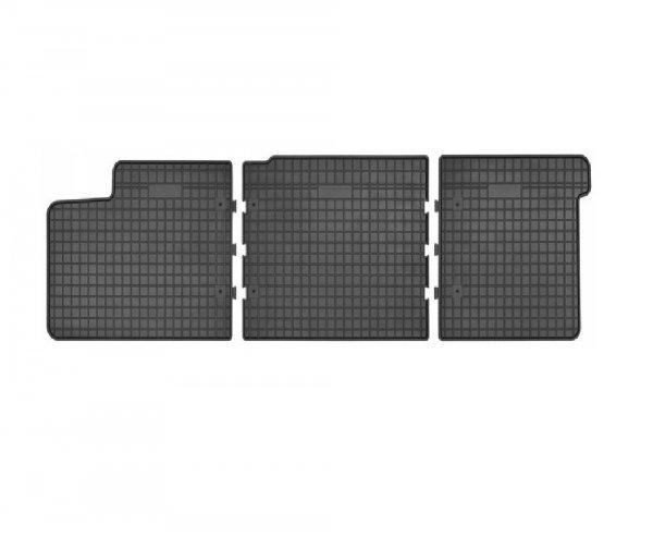 Dywaniki czarne VOLKSWAGEN T6 od 2015 2 rząd siedzeń, podwójna kabina