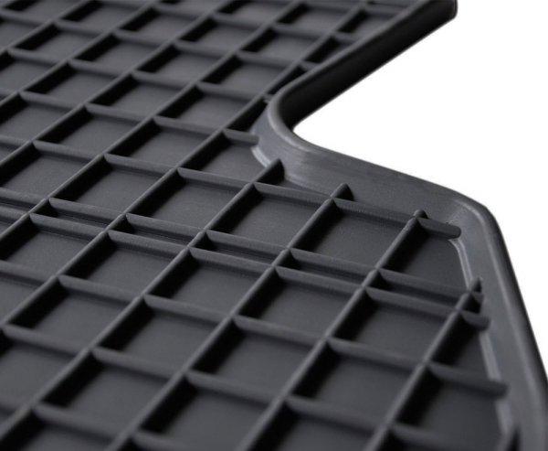 Dywaniki gumowe czarne RENAULT ZOE od 2012