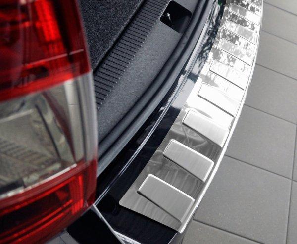 BMW 3 F30 FL 4D SEDAN od 2015 Nakładka na zderzak TRAPEZ Satin