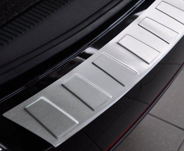 Volvo XC90 II od 2015 Nakładka na zderzak TRAPEZ Mat