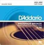 D'Addario EJ16 - Phosphor Bronze 12-53