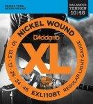 D'addario EXL110BT struny elektryczne