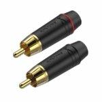 Roxtone RF2P-BG wtyk RCA para